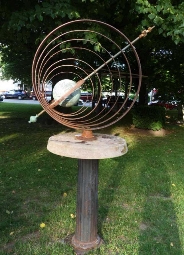 5   Armillary Garden Sphere